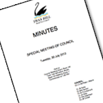 Meetings, Agendas and Minutes