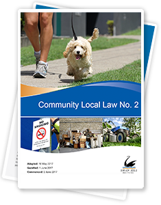Community Local Law No. 2 2017