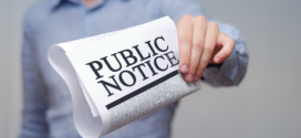 Public Notice: Community Grants program