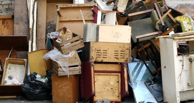 Domestic hard waste collections in October