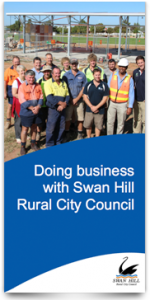 Doing business with Swan Hill Rural City Council brochure (pdf 1MB)