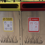 New bins to encourage recycling in park, CBD