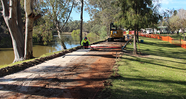 New Riverside Park shared path starts today