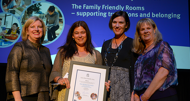 Early Years Award for Council's Children's Advocate