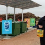 Council's Senior Waste Management Officer David Soutar at the new Detox drop-off site.