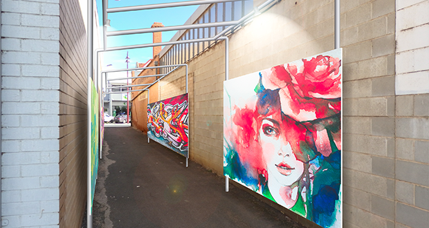 Bring your piece of Swan Hill to CBD laneway