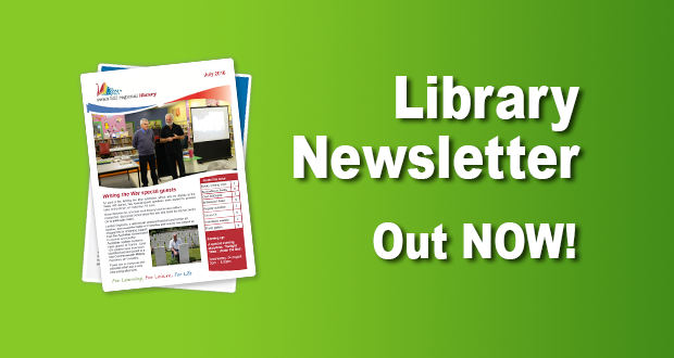 Library Newsletter Out Now – July 2016!