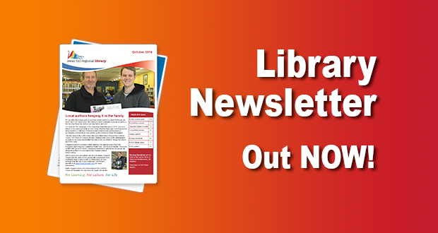 Library Newsletter Out Now – October 2016!