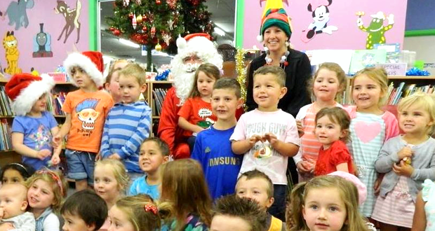 Santa Claus is coming… to the Swan Hill Regional Library!