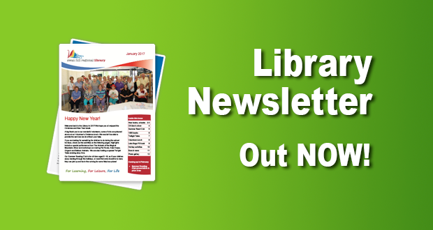 Library Newsletter Out Now – January 2017!