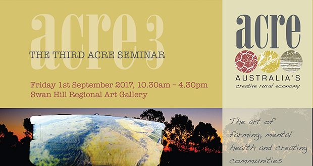 ACRE 3 Seminar set to inspire this September