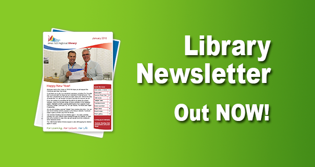 Library Newsletter Out Now – January 2018!
