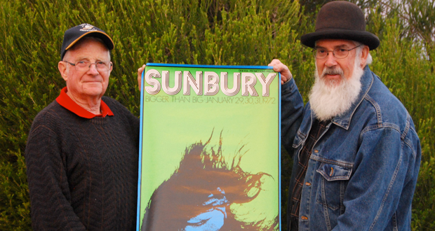 Relive the Sunbury Rock Festival!
