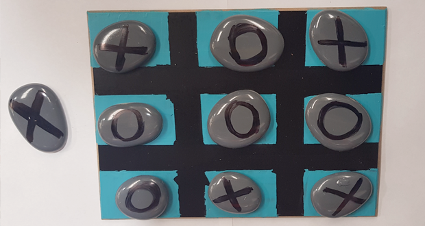 Create your own Tic-Tac-Toe!