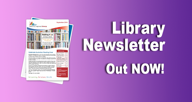 Library Newsletter – September 2018