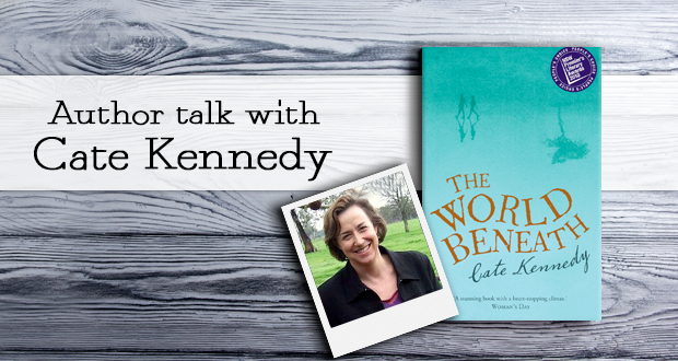 Author talk with Cate Kennedy