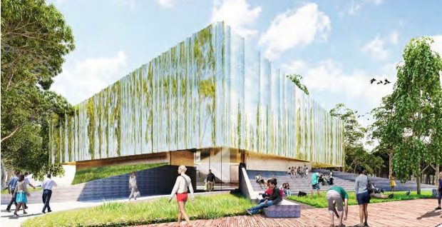 Iconic riverfront building planned for Swan Hill