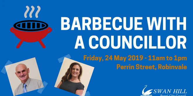BBQ with a Councillor