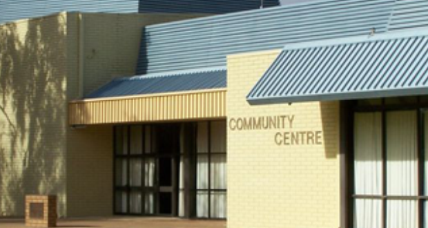 Community centre hire fees halved