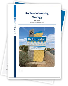 Robinvale housing and population