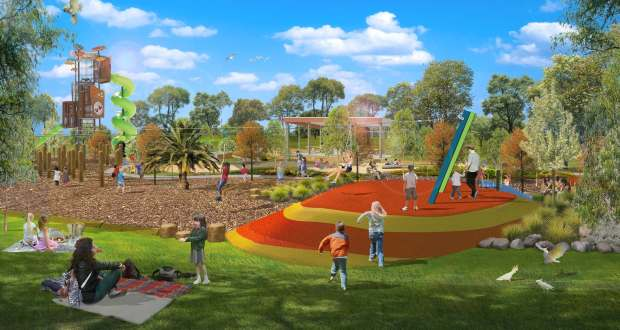Get ready Swan Hill – adventure play is coming your way!