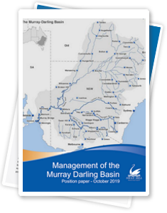Management of the Murray Darling Basin