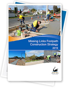 Missing Links Footpath Construction Strategy