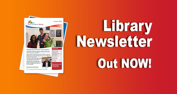 Library Newsletter – October 2019