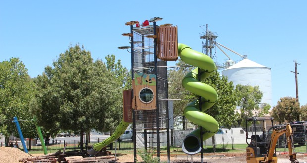 Swan Hill's adventure playground opening Tuesday!