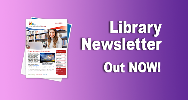 Library Newsletter – March 2021